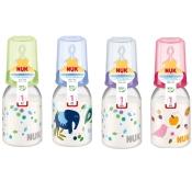NUK® Classic Babyflasche mit Trinksauger Silikon Gr. 1 (0-6 Monate) 110 ml