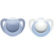 NUK® Genius Schnuller blau (0-2 Monate)