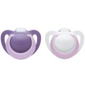NUK® Genius Schnuller violett (18-36 Monate)