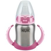 NUK® Learner Cup Edelstahl 125 ml rosa