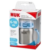 NUK Learner Cup Edelstahl 125ml blau
