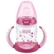 NUK® Trinklernflasche Polypropylen rosa