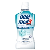 Odol-med3® Samtweiss Polarfrisch Mundspülung