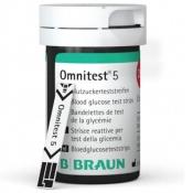 Omnitest® 5 Blutzuckerteststreifen