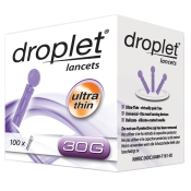 OMRON droplet® lancets ultra thin 30G Lanzetten