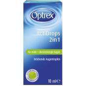 Optrex ActiDrops 2in1 für müde und überanstrengte Augen