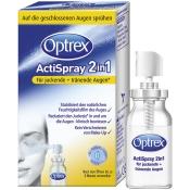 Optrex ActiSpray 2in1 für juckende und tränende Augen