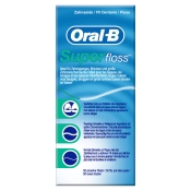 Oral-B® Zahnseide Superfloss 50 Fäden