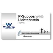 P-Suppos weiß Lichtenstein