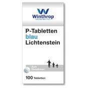 P-Tabletten blau Lichtenstein