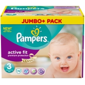 Pampers® Active Fit Gr. 3 Midi 4-9 Kg Jumbopack