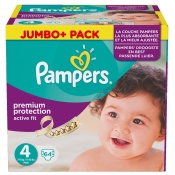 Pampers® Active Fit Gr. 4 7-18 kg Jumbo Plus Pack