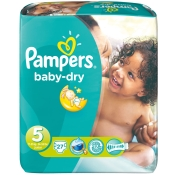 Pampers® baby-dry Gr. 5 Junior 11-25kg Sparpack