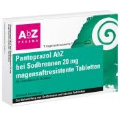 Pantoprazol AbZ bei Sodbrennen 20 mg