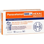 Paracetamol 1000 mg HEXAL® Zäpfchen
