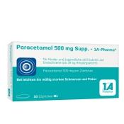Paracetamol 500 mg Suppositorien - 1 A Pharma®