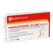 Paracetamol AL 500 Zäpfchen