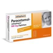 Paracetamol-ratiopharm® 500 mg Zäpfchen