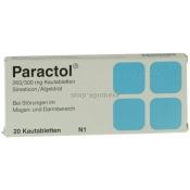 Paractol Kautabletten