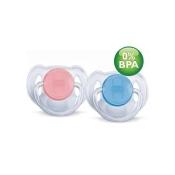 Philips® AVENT Schnuller durchsichtig 6-18 Monate BPA-frei