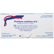 Plumbum Mellitum D 12 Ampullen