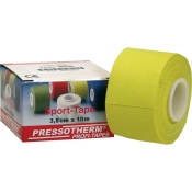 Pressotherm® Sport-Tape 3,8 cm x 10 m gelb