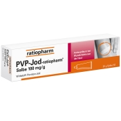 PVP Jod-ratiopharm® Salbe