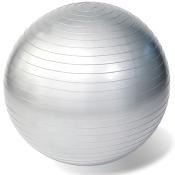 Rehaforum® Gymnastikball 75 cm silber metallic