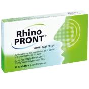 RhinoPRONT® KOMBI TABLETTEN