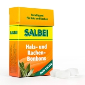 Salbei Hals- und Rachenbonbons – ohne Zucker