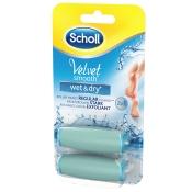 Scholl Velvet Smooth Pedi wet & dry Ersatzrollen stark