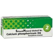 SchuckMineral Globuli Nr. 2 Calcium phosphoricum D6