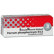 SchuckMineral Globuli Nr. 3 Ferrum phosphoricum D12