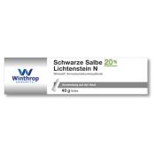 Schwarze Salbe 20% Lichtenstein N