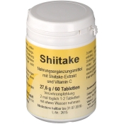 Shiitake Tabletten