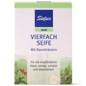 Sixtus med Vierfach Seife mit Alpenkräutern