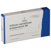 Stibium Met. Praeparatum D 6 Amp.