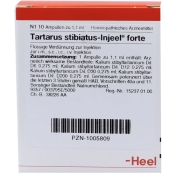 Tartarus stibiatus-Injeel® forte Ampullen