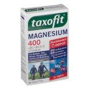 taxofit® Magnesium 400 + B-Kompl. + Fols. + Vit.C + E Depot Tabletten