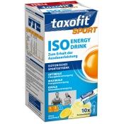 taxofit® Sport Iso Energie Drink Zitrus