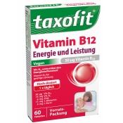 taxofit® Vitamin B12 Energie und Leistung