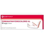 Terbinafinhydrochlorid AL 10 mg/g Creme