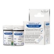 TESTAmed® GlucoCheckPLUS Teststreifen