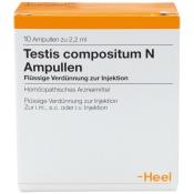 Testis Compositum N Ampullen
