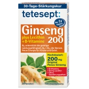 tetesept® Ginseng 200 +Lecithin + B-Vitamine