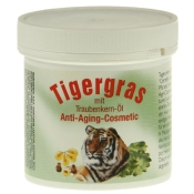 Tigergras mit Traubenkern-Öl