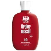 Tiroler Nussöl original Sonnenmilch wasserfest LSF 10