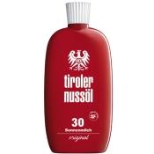 Tiroler Nussöl original Sonnenmilch wasserfest LSF 30