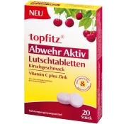 topfitz® Abwehr Aktiv Lutschtabletten mit Kirschgeschmack