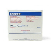 TOPPER® Schlitzkompressen steril 10 x 10 cm